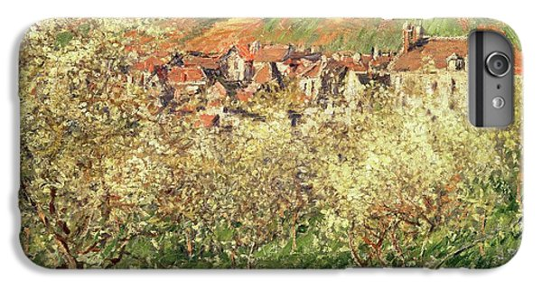 Apple Trees In Blossom IPhone 6 Plus Case by Claude Monet