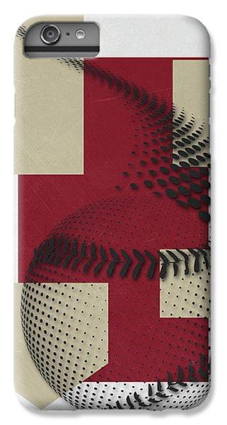 Arizona Diamondbacks Art IPhone 6 Plus Case by Joe Hamilton