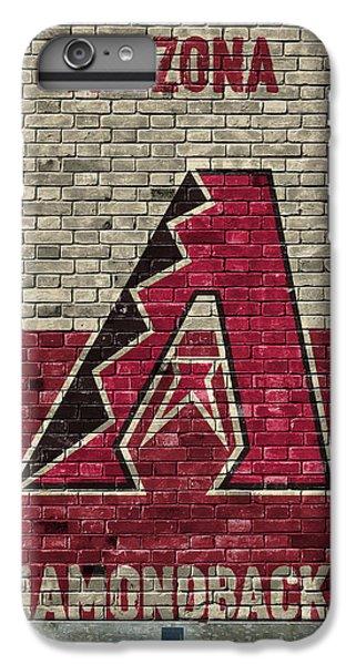 Arizona Diamondbacks Brick Wall IPhone 6 Plus Case by Joe Hamilton