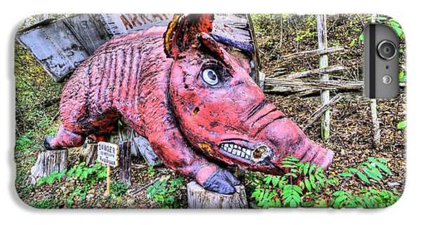 Arkansas Razorbacks IPhone 6 Plus Case by JC Findley