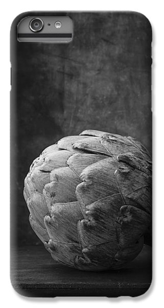 Artichoke Black And White Still Life IPhone 6 Plus Case by Edward Fielding