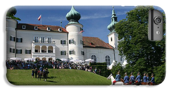 IPhone 6 Plus Case featuring the photograph Artstetten Castle In June by Travel Pics