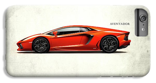 Lamborghini Aventador IPhone 6 Plus Case by Mark Rogan