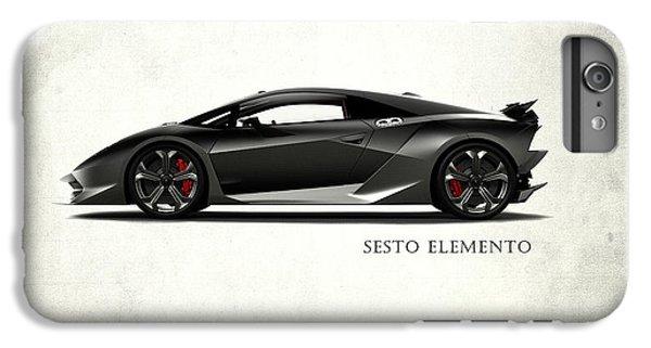 Lamborghini Sesto Elemento IPhone 6 Plus Case by Mark Rogan
