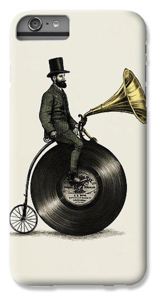 Music Man IPhone 6 Plus Case by Eric Fan
