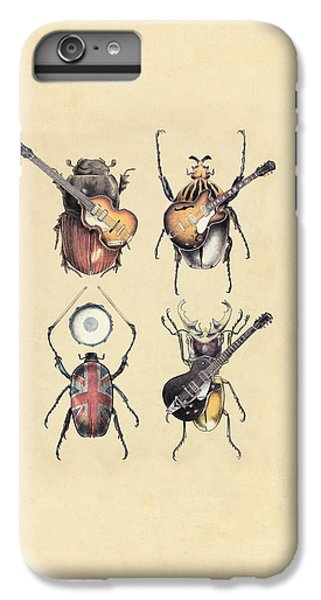 Meet The Beetles IPhone 6 Plus Case by Eric Fan