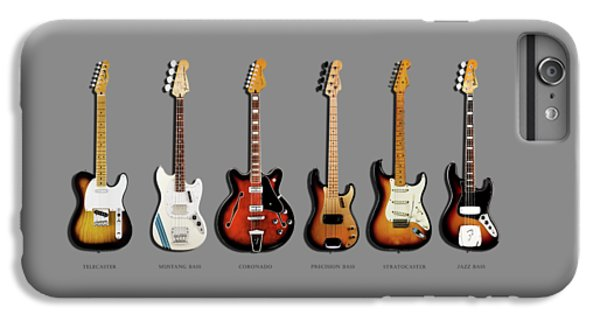 Fender Guitar Collection IPhone 6 Plus Case by Mark Rogan
