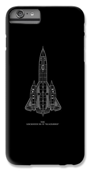 The Lockheed Sr-71 Blackbird IPhone 6 Plus Case by Mark Rogan