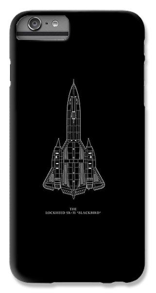 The Lockheed Sr-71 Blackbird IPhone 6 Plus Case by Mark Rogan