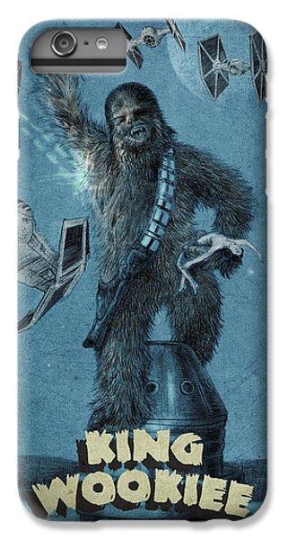 King Wookiee IPhone 6 Plus Case by Eric Fan