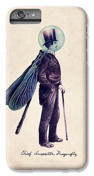 Inspector Dragonfly IPhone 6 Plus Case by Eric Fan