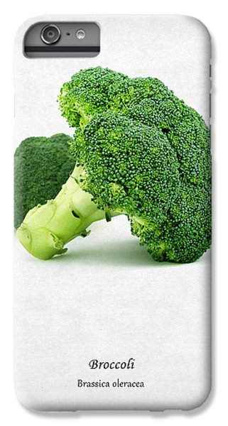 Broccoli IPhone 6 Plus Case by Mark Rogan