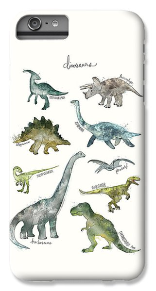 Dinosaurs IPhone 6 Plus Case by Amy Hamilton