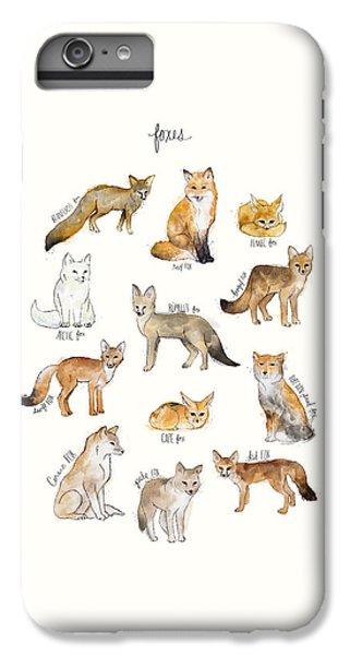 Foxes IPhone 6 Plus Case by Amy Hamilton