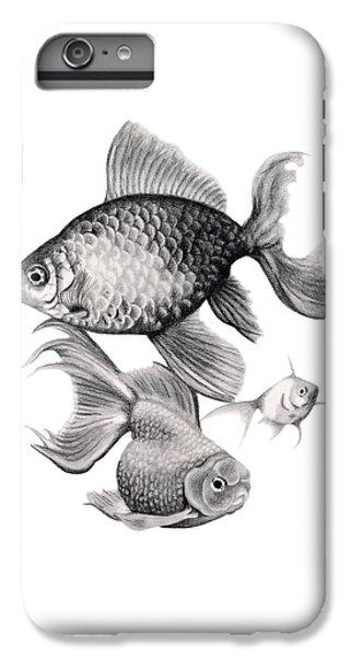 Goldfish IPhone 6 Plus Case by Sarah Batalka