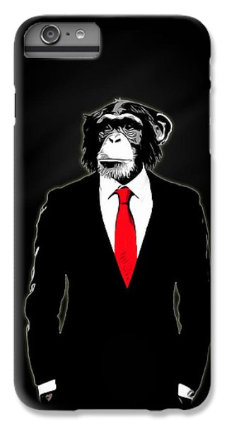 Domesticated Monkey IPhone 6 Plus Case by Nicklas Gustafsson