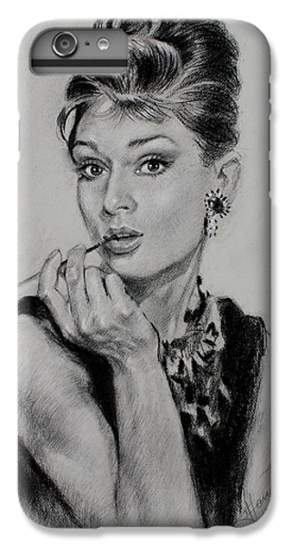 Audrey Hepburn IPhone 6 Plus Case by Ylli Haruni