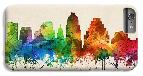 Austin Texas Skyline 05 IPhone 6 Plus Case by Aged Pixel