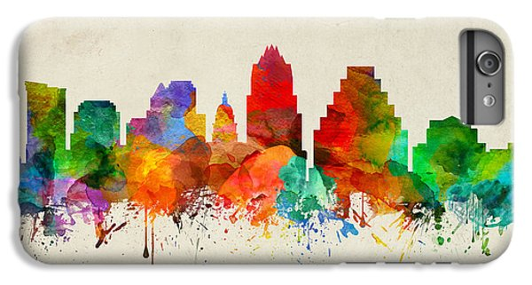 Austin Texas Skyline 22 IPhone 6 Plus Case by Aged Pixel