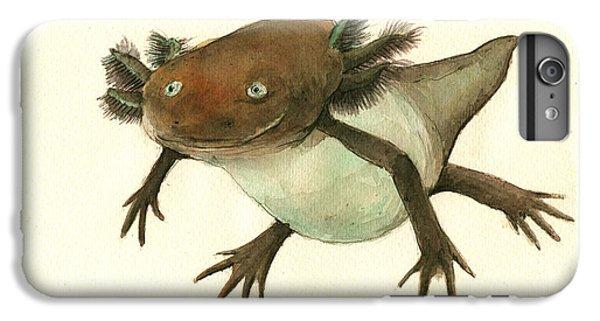 Axolotl IPhone 6 Plus Case by Juan Bosco