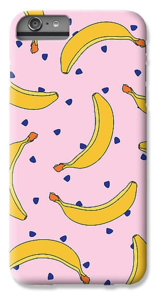 B-a-n-a-n-a-s IPhone 6 Plus Case by Elizabeth Tuck