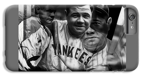 Babe Ruth Collection IPhone 6 Plus Case by Marvin Blaine