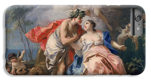 Bacchus And Ariadne IPhone 6 Plus Case by Jacopo Amigoni