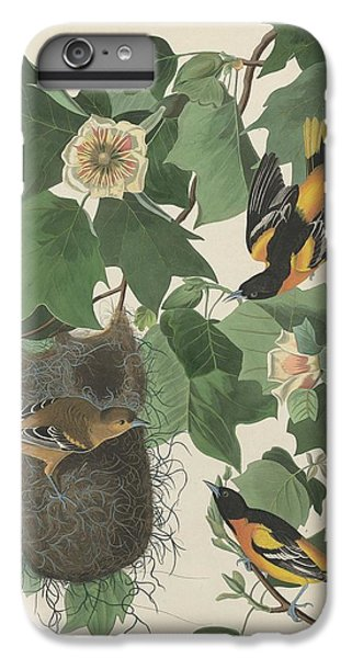 Baltimore Oriole IPhone 6 Plus Case by John James Audubon