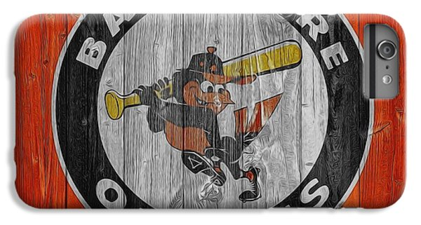 Baltimore Orioles Graphic Barn Door IPhone 6 Plus Case by Dan Sproul