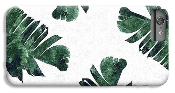 Banan Leaf Watercolor IPhone 6 Plus Case by Uma Gokhale