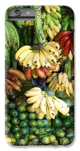 Banana Display. IPhone 6 Plus Case by Jane Rix