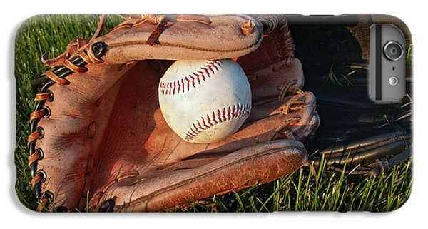 Baseball Gloves After The Game IPhone 6 Plus Case by Anna Lisa Yoder