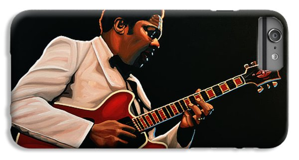 B. B. King IPhone 6 Plus Case by Paul Meijering