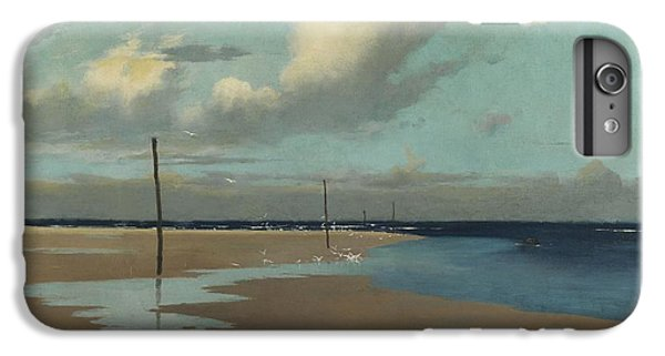 Beach At Low Tide IPhone 6 Plus Case by Frederick Milner