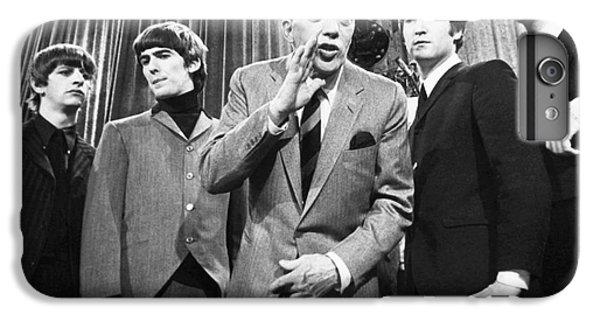 Beatles And Ed Sullivan IPhone 6 Plus Case by Granger