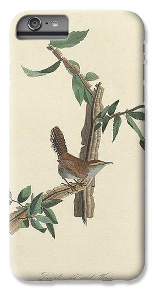 Bewick's Long-tailed Wren IPhone 6 Plus Case by John James Audubon