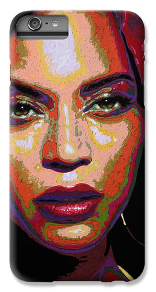 Beyonce IPhone 6 Plus Case by Maria Arango
