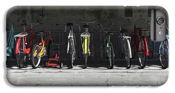 Bike Rack IPhone 6 Plus Case by Cynthia Decker