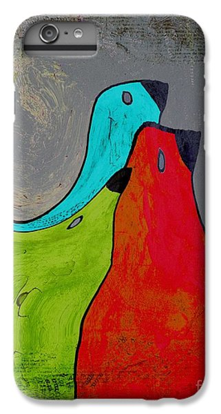 Birdies - V110b IPhone 6 Plus Case by Variance Collections