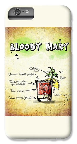 Bloody Mary IPhone 6 Plus Case by Movie Poster Prints