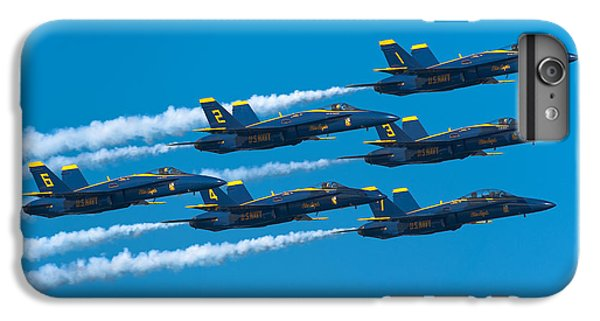 Blue Angels IPhone 6 Plus Case by Sebastian Musial