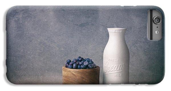 Blueberries And Cream IPhone 6 Plus Case by Tom Mc Nemar