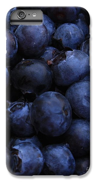 Blueberries Close-up - Vertical IPhone 6 Plus Case by Carol Groenen