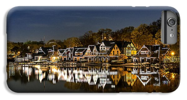Boathouse Row IPhone 6 Plus Case by John Greim
