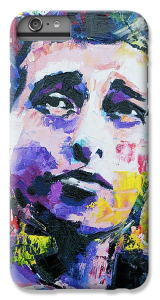 Bob Dylan Portrait IPhone 6 Plus Case by Richard Day