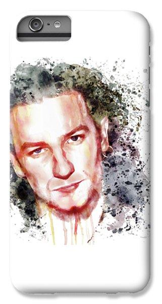 Bono Vox IPhone 6 Plus Case by Marian Voicu