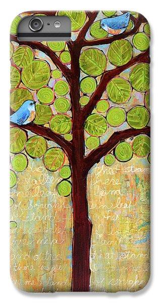Boughs In Leaf Tree IPhone 6 Plus Case by Blenda Studio