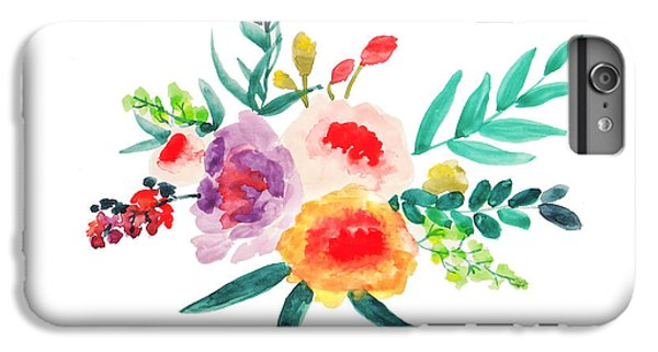 Bouquet Chic IPhone 6 Plus Case by Rasirote Buakeeree