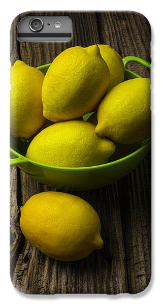 Bowl Of Lemons IPhone 6 Plus Case by Garry Gay