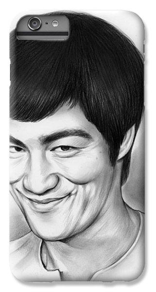 Bruce Lee IPhone 6 Plus Case by Greg Joens